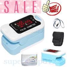 Contec LED Fingertip Pulse Oximeter, Spo2 Monitor,Carry Case,Lanyard CMS50M