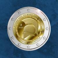Griechenland - 2.500 Jahre Schlacht Thermopylen - 2 Euro 2020 unc.
