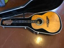 Ovation 1755 12 String Acoustic Electric Guitar w/ Hard Shell Case NICE