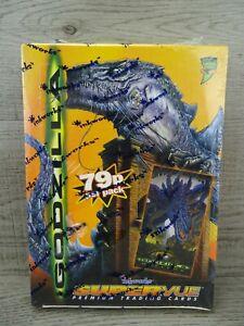Godzilla Supervue Movie Trading Cards Box Inkworks 1998 Sealed 36 Packs #1