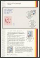 BRD ETSB 1991/9a ERSTTAGS-SAMMELBLATT DAUERSERIE FRAUEN 150 Pfg. SOPHIE SCHOLL