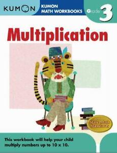 Grade 3 Multiplication : Kumon Math Workbooks by Kumon Publishing North America