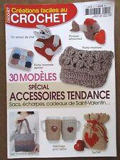 Magazine créations faciles au crochet 30 modèles N°19 /ZA27