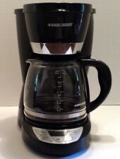 Black & Decker PROGRAMMABLE COFFEE MAKER CM 1050B Type 1 4-12 cup capacity NICE!