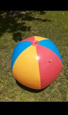 91cm sprinkler beachball with pass-through tube