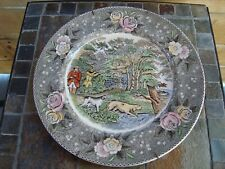 Vintage Currier & Ives Collectors Plate Woodcock Shooting Lithographer