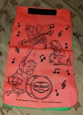 1992 DEL MONTE Advertising Promo VELCRO LUNCH BAG Alvin Simon Theodore Chipmunks