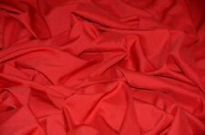 Red Poplin Fabric Polyester Solid 60'' YD Table Covers Decoration Apparel