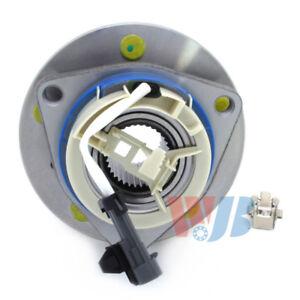 Wheel Bearing and Hub Assembly-4-Wheel ABS Front,Rear WJB WA513179