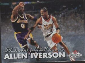 1999/00 fleer force    contre kobe bryant # 123  Allen Iverson