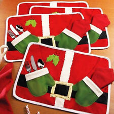 LC_ BABBO tovaglietta runner da tavolo Tappetino posate CUSTODIA cena Natale