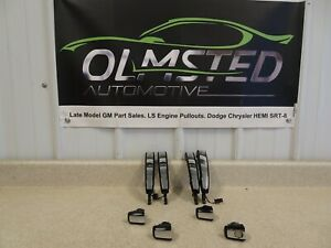 14 17 Chevrolet SS Sedan Front Rear Door Handles Black Chrome GM Left Right 8