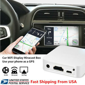 USA Stock! Car WIFI Miracast Airplay DLNA Mirror Link Box For iOS Android Phone