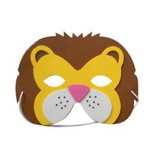 Lion Wild Animal Foam Mask Zoo Safari Farm Jungle Party Costumes Child Adult