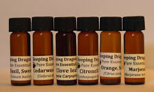 """6 """"Must Haves"""" 100% Pure Essential Oils Basic Aromatherapy Set, Sleeping Dragons"""