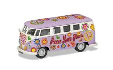 CORGI VW CAMPERVAN PEACE LOVE & MUSIC CC02730