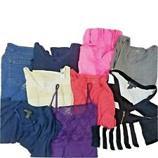 Lot of 9 Lane Bryant 18/20 Business Casual Tank Blouse Shirt Sweater Capris Euc