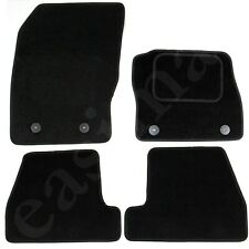 Fits Ford Focus Mk3 2011-2018 Fully Tailored Carpet Car Mats Black 4pc Floor Set