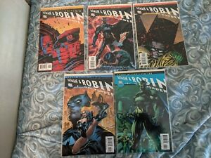 All Star Batman And Robin The Boy Wonder 1-9 and Variant 2 ( 10 issue lot)