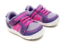 NEW Sz 2 Surprize Stride Rite Patsy Shoes Purple Pink Sparkle Baby Girl Toddler