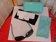 TIFFANY & CO Sunglasses Case Card Cloth & Dust Cover 130MM 4041