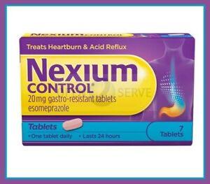 NEXIUM CONTROL 20mg Tablets for Heartburn & Acid Reflux - 7 14 21 28 Tablets