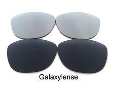 Galaxy Lente Repuesto Para Oakley Frogskins gafas de Sol Negro y Titanio