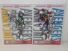 UNCANNY AVENGERS #1 - Team Variant Set - RICK REMENDER John Cassaday - MARVEL