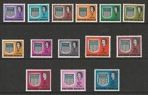Northern Rhodesia 1963 Complete set SG 75-88 Mnh.