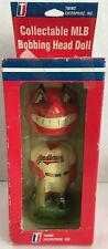 Vintage Chief Wahoo Cleveland Indians Discontinued Mascot Bobbing Head Doll G45