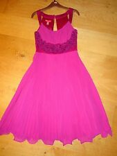 Magnifique Haut Femme MONSOON/Filles Bal/Bal/soirée/robe de soirée taille 8 L @ @ K