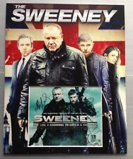 [A0416] The Sweeney Cast Signed 20x16 Inch Display AFTAL