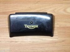Carene, code e puntali neri per moto Triumph