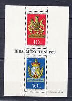 BRD Briefmarken 1973 IBRA und FIP Mi.Nr.Block 9 ** postfrisch
