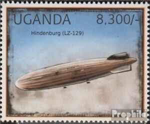 uganda 2920 (complete issue) unmounted mint / never hinged 2012 Airships
