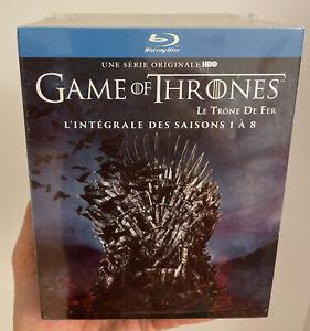 Game of Thrones (Le Trône De Fer)- L'intégrale des Saisons 1 à 8 [Blu-Ray]- Neuf