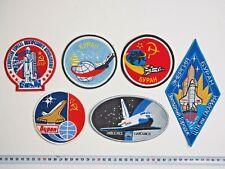 Soviet Space Shuttle Buran Program Patch set Astronaut Suit EXTRA RARE