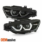 For 12-15 Bmw 320i 325i 328d 328i 335i Hid Wafs Led Projector Black Headlights