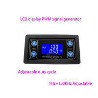 1Hz-150KHz PWM Pulse Frequency Duty Cycle Adjustable Module LCD Signal Generator