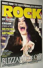THIS IS ROCK # 35 / OZZY OSBOURNE Blizzard of Ozz SEX PISTOLS CREAM THE DOORS