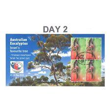 Israel Stamp Show 2018 Australia Eucalyptus Mini Sheet Day 2 Postmark Limited