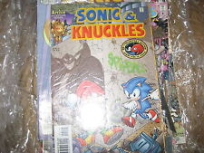 Knuckles Chaotix , Sonic & Knuckles , Knuckles the Echidna #6 Sonic The Hegehog