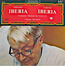 ++CHARLES MUNCH/ORTF iberia DEBUSSY/ALBENIZ LP FESTIVAL VG++