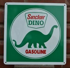 Sinclair Gasoline pump SIGN Gas Station Dino Supreme Collectible Logo