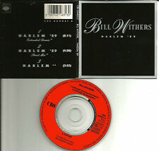 BILL WITHERS Harlem 89 UK EXTENED & STREET MIX 3 INCH CD single 1989 USA Seller