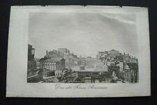 1834:ROMA,FORO ROMANO.Forum Romanum.STAMPA.Inc/Acciaio.