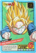 CARTE DRAGON BALL GT N-¦ 578 SONGOTEN  POWER LEVEL 6  VERSION  FRANCAISE