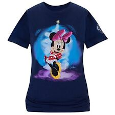 Disney Store 25th Anniversary Minnie Mouse Tee Womens ORGANIC RETIRED NWT SZ L