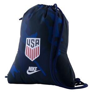 Nike USMNT Gym Bag Sack United States of America USA Soccer Football Futbol