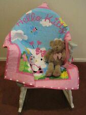 "Handmade Baby Quilt Comforter Hello Kitty Pink for Girls 35"" X 41"""